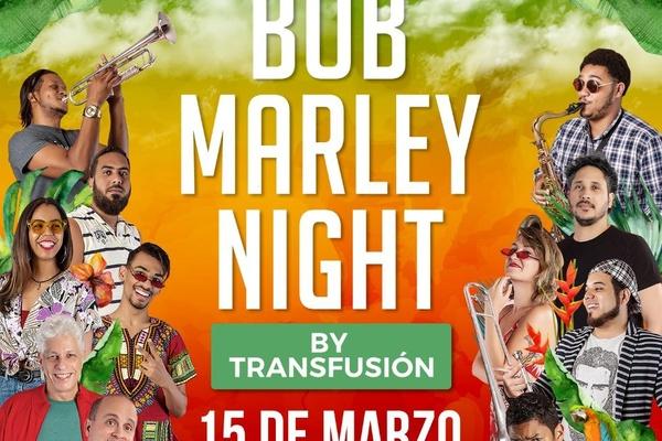 Transfusión anuncia homenaje a Bob Marley el 15 de marzo