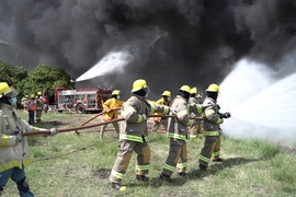 Asociación de Empresas de Haina y Refidomsa realizan con éxito simulacro de emergencia