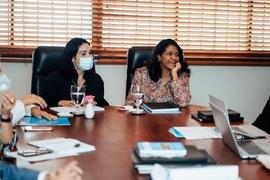 Primera Dama de la República realiza visita oficial al CONANI
