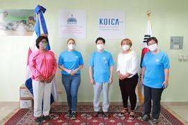 Prosoli y KOICA entregan 1,800 kits contra el COVID-19 en provincias del sur